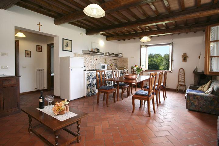 Sole appartamento 5 posti letto per vacanze al lago trasimeno umbria affitti turistici per - Tavolo all americana ...