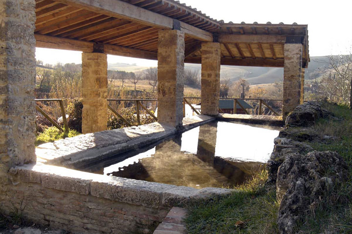 Freie thermen in der nähe des country house marilena la casella in